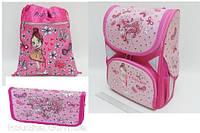 """Набор ранец ортопедический """"Pretty Girl"""" JO-1701 пенал JO-17013 сумка для обуви JO-17011"""