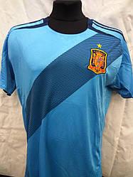 Футбольна форма доросла збірна Іспанії блакитна