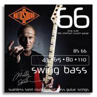 Rotosound BS66 комплект струн для бас- гитары 43-110