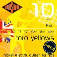 Rotosound R10 комплект струн для электрогитары 10-46