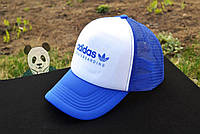 Синяя кепка тракер  Adidas Skateboarding