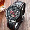 Кварцевые часы AMST (black-red) - гарантия 12 месяцев, фото 4
