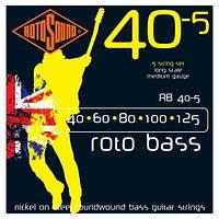 Rotosound RB40.5 комплект струн для 5-ти струнной бас- гитары 40-125