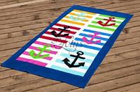 Пляжное полотенце 75x150 Lotus  MARINE