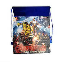 Детская сумка-рюкзак для сменной обуви Avengers