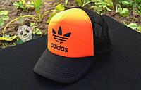 Оранжевая кепка адидас adidas logo