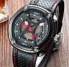 Кварцевые часы AMST (black-red) - гарантия 12 месяцев, фото 2