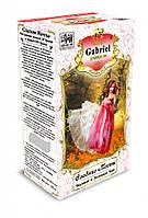 Черный и зеленый чай Gabriel в картонной пачке «Сладкие мечты» - Тропические фрукты 100 г.