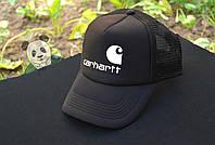 Черная кепка Carhartt