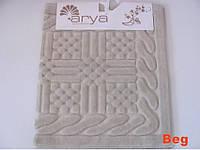Набор ковриков для ванной 2шт Arya Berceste беж AR41