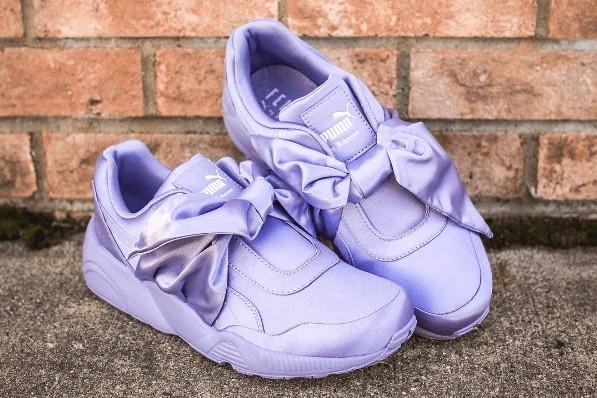 new arrival 3fed2 fb45b Puma х Rihanna Fenty Bow Sneaker Sweet Lavender (в стиле пума)