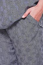 Річний брючний костюм великих розмірів Донна сірий, фото 2
