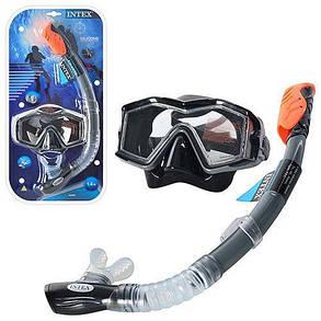 Набор для плавания маска с трубкой Intex 55961, фото 2