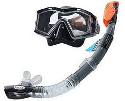 Набор для плавания маска с трубкой Intex 55961, фото 3