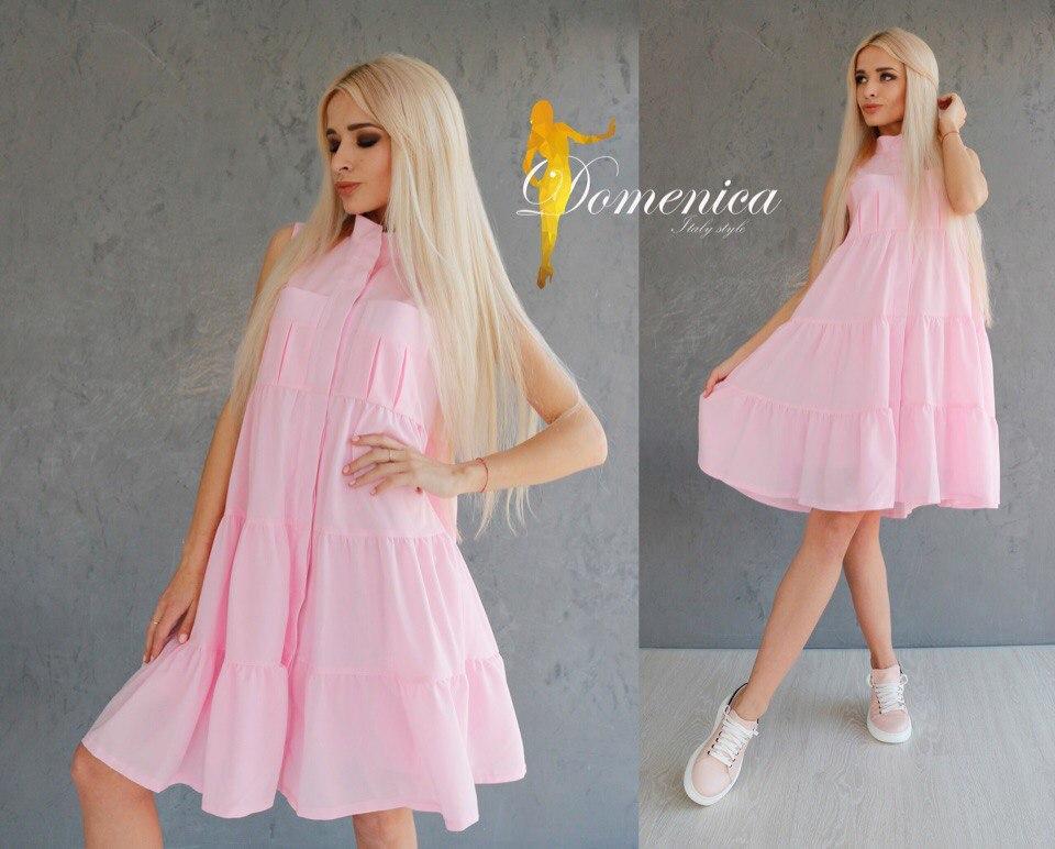 Платье на пуговичках