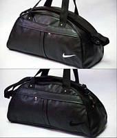 Спортивная сумка Nike черная экокожа // Экокожа