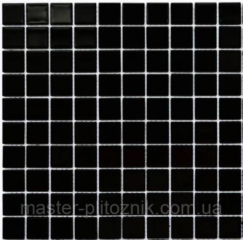 Мозаика Leo Ceramica стеклянная black