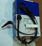 Датчик ABS (АБС) антиблокировочной системы тормозов (датчик оборотов , скорости) передней оси GM 1247310 1235053 1235526 1235326 22821303 12848538