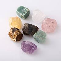 Камень натуральный ассорти сувенир d-2см (+-) за шт.