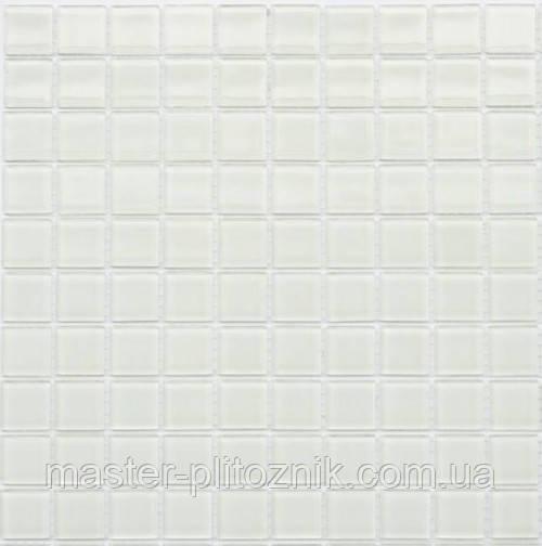 Мозаика Leo Ceramica стеклянная White
