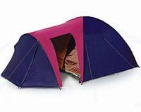 Туристическая палатка Coleman 1036 Большой тамбур. 4 места. 2 слоя