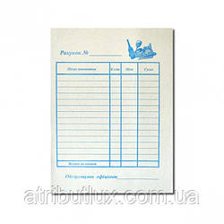 Счет официанта А6 газетка (100 листов)