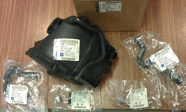 Бачок расширительный Z28NEL Z28NET Z30DT OPEL Vectra-C GM 9013000 1304612 1304274 1304011 12842086 12759330