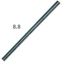 Шпилька резьбовая, к.п. 8.8, DIN 975, оцинкованная, M12x1000