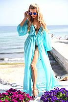 Туника пляж в пол длинный рукав  20/9056.2, фото 3