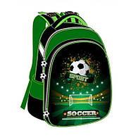 Рюкзак школьный Class Soccer 9723 каркасный для мальчика Чехия