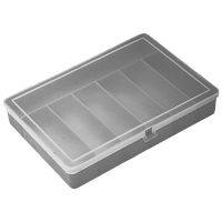 Органайзер 204х141х34 мм металлик