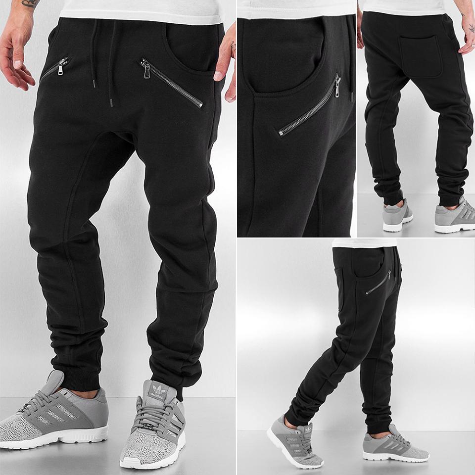 """Утепленные спортивные черные штаны  - Интернет-магазин одежды  """"SHOPLIKE"""" в Одессе"""