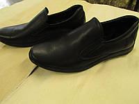 Туфли летние кожаные облегченные