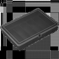 Органайзер 204х141х34 мм черный