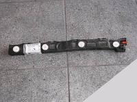 Кронштейн (направляющая, крепление , опора, рейка) заднего бампера левый (левая) крайний (чёрный пластиковый) у крыла GM 1404282 6406327 20972949