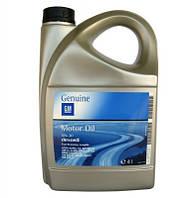 Масло моторное синтетика SAE 5W-30 4 литра канистра (NEW) dexos2 (Бельгия) GM 1942002 93165556 95599404 OPEL (ДЛИТЕЛЬНОГО ДЕЙСТВИЯ) (GMW16177, ACEA