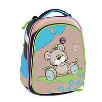 Школьный рюкзак ортопедический Class Fancy Bear 9717 каркасный для девочки Чехия