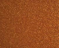 Фоамиран глиттерный 2 мм, 20x30 см, Китай, КОРИЧНЕВЫЙ, фото 1