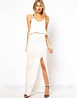16a6e63ccc30 Белое платье макси в Харькове. Сравнить цены, купить потребительские ...