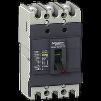 Автоматический выключатель EasyPact EZC EZC100N 3P 15кА 80А Schneider