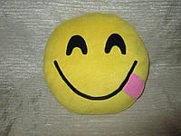 """Подушки смайлики Emoji 35 см """"Игривая улыбка"""""""