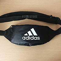 Мужская сумка на пояс Adidas черная