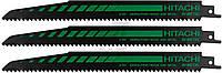Набор пилочек для сабельной пилы Hitachi RD50B 3 шт. 752028