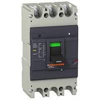 Автоматический выключатель EasyPact EZC400N 3P3D 36кА 400А Schneider