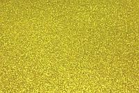 Фоамиран глиттерный 2 мм, 20x30 см, Китай, ЗОЛОТО, фото 1