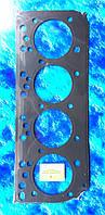 Прокладка головки блока цилиндров  для двигателя ММЗ 240-245/ металлическая 3-х слойная/ Беларусь