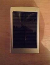 Power Bank 9185 30000 mAh с Led панелью и солнечной батареей, фото 3