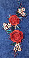 Нашивка ветка цветов Big
