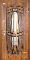 Входные двери Abwehr Ковка Massandra Vinorit золотой дуб патина