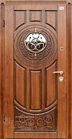 Входные двери Abwehr Ковка Luck Vinorit золотой дуб патина